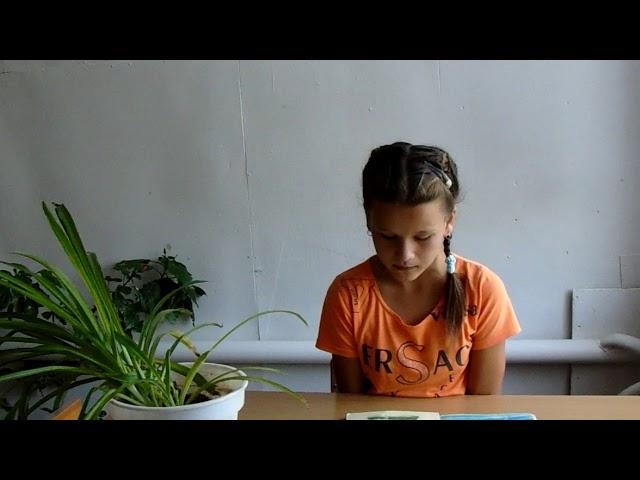 Изображение предпросмотра прочтения – ВероникаДушпанова читает произведение «Загадка» В.А.Жуковского