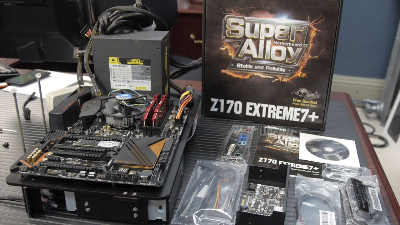 ASRock Z170 Extreme 7+ : Socket 1151 for Skylake