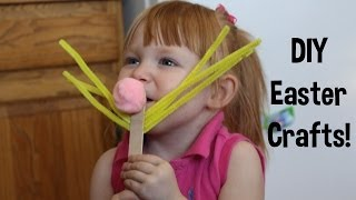 DIY Easter Crafts with your toddler! Thumbnail