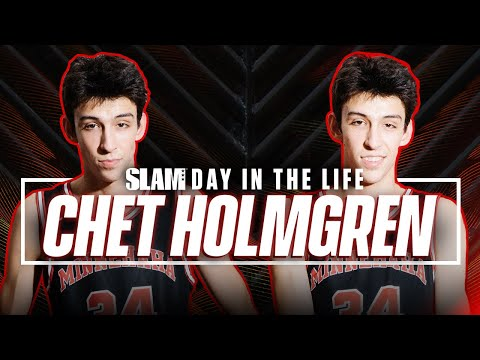 """Chet Holmgren is Here: """"SLIM REAPER ACTIVATED"""" 🤮   SLAM Day in the Life"""