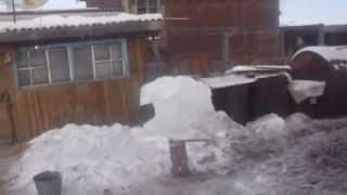 летний водопровод зимой - 40