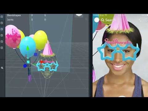 Вопрос: Как использовать линзу дня рождения на Snapchat?