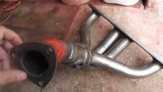 Приемная труба на Калину в место каткалектора. Так называемые выпуск 4-1