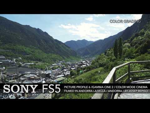 SONY FS5 PP6 COLOR GRADING ANDORRA LA VELLA