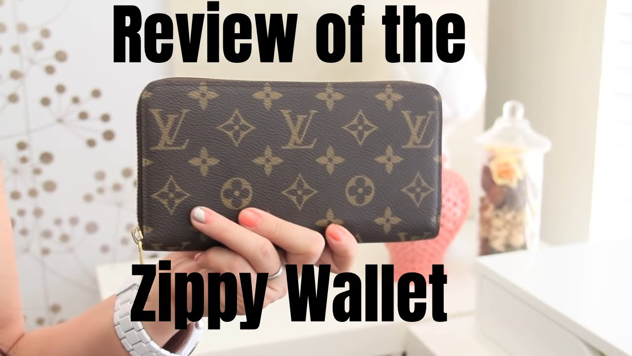 6fb3d6ced0809 Louis Vuitton Zippy Wallet Monogram Review - YouTube