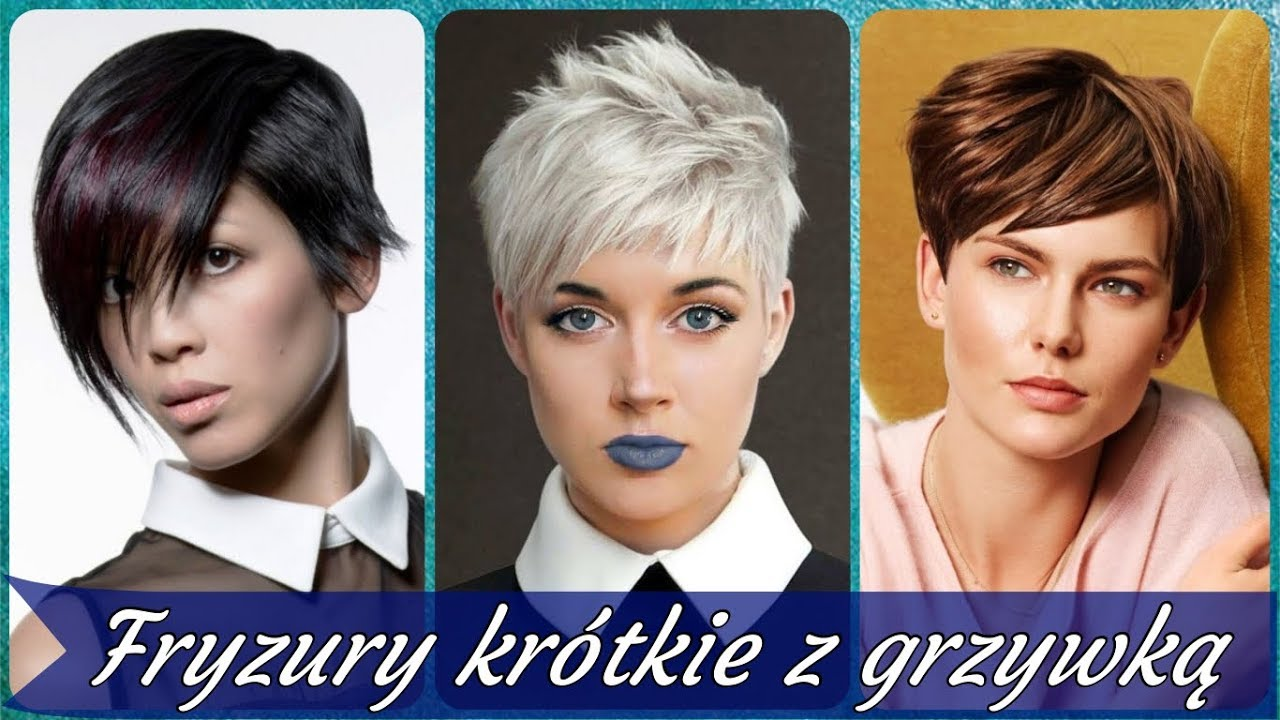 Top 20 Modne Fryzury Damskie Krótkie Z Grzywką 2019