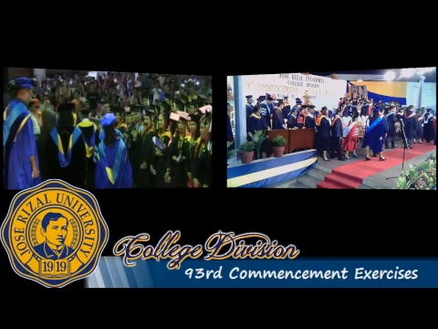 JRU College Division 93rd Commencement Exercises Day 1
