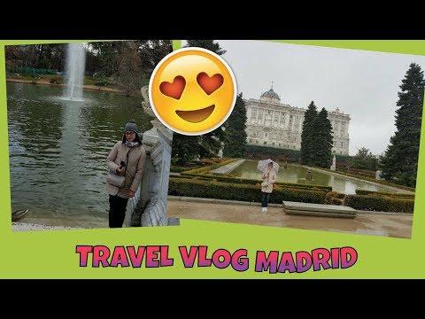 TRAVEL VLOG: MADRID 1-3 MARZO 2018|Ilmondodinaomi