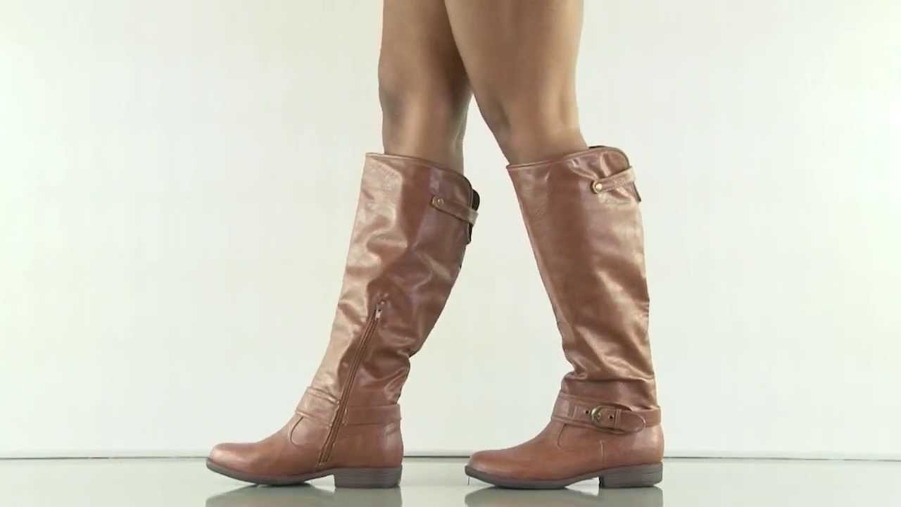 6d9c7dc09c35 Gea in Chestnut JustFab - YouTube