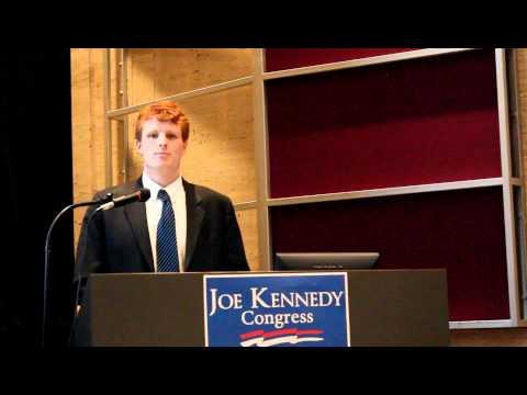College Democrats of Massachusetts Convention - Joe Kennedy (Pt. 1)