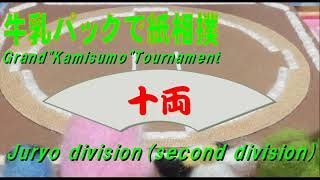北海道発!牛乳パックで紙相撲実況中継 2020年1-2月場所-8日目-Kamisumo Tournament 2020-1-2 Day8