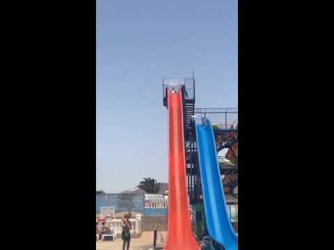 Having fun Costa teguise water park