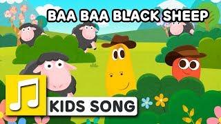 BAA BAA BLACK SHEEP  | Nursery Rhymes | LARVA KIDS Songs for Children