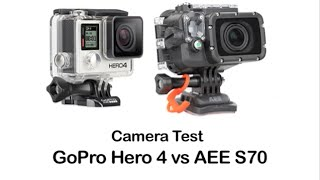 Cinematography Camera Test - AEE Vs GoPro