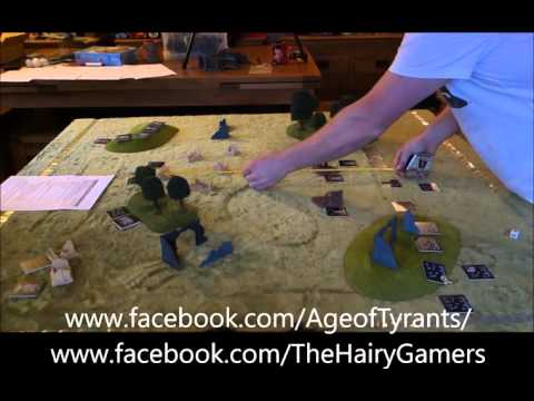 The Hairy Gamers play Age of Tyrants - VASA vs Syntha