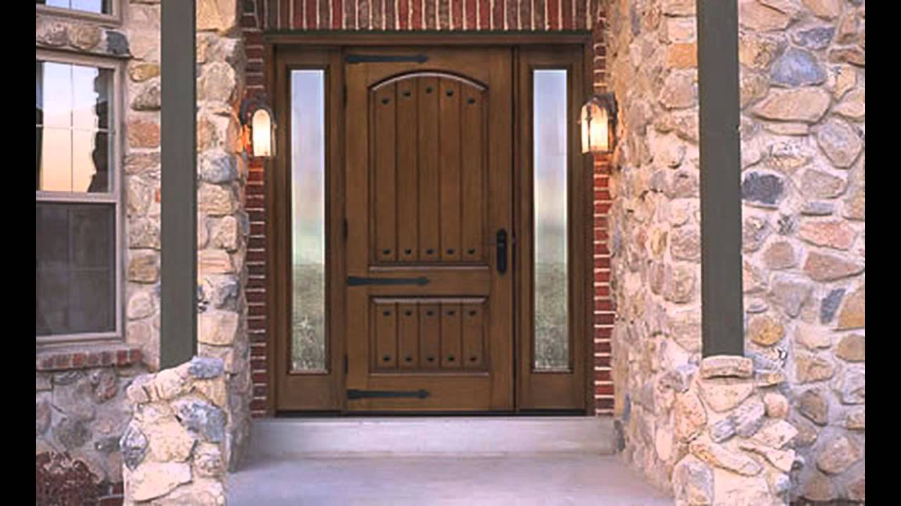 42 Inch Exterior Door - YouTube