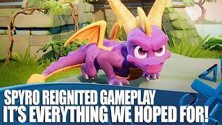 Spyro Reignited Trilogy PS4 Gameplay - It