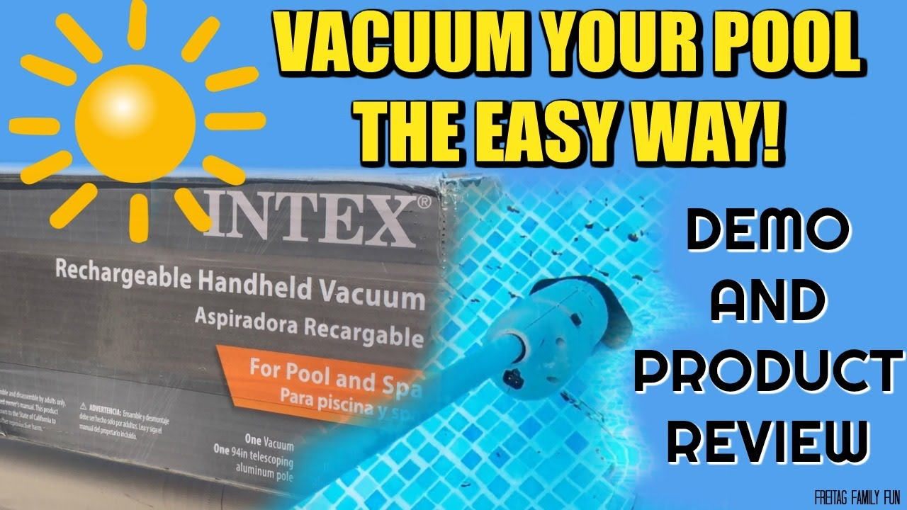 how to clean an above ground pool without a vacuum