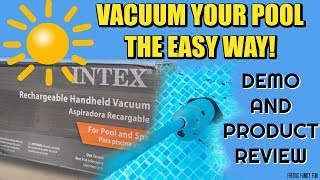 How to Vacuum EASY WAY Intex EasySet Pool For A Crystal Clear Pool