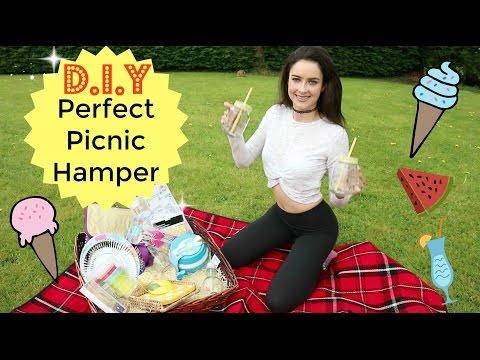 Perfect Picnic Hamper | DIY | Gift Ideas | How to | Summer Haul | Homeware | Vlog |