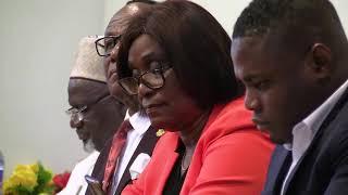 Ghana Ahmadi Muslims visit parliament