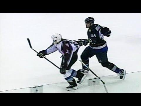 Todd Bertuzzi Sucker Punches Steve Moore - Full Incident (Hiqh Quality)