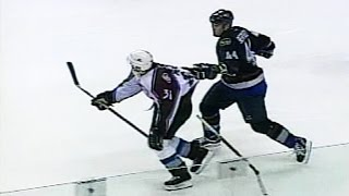 Todd Bertuzzi Sucker Punches Steve Moore - Full Incident (Hiqh Quality)