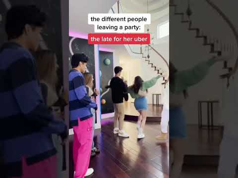 The Different People Leaving The Party | #Shorts