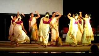 ESS Thiruvathira @ World Malayali Council Thiruvathira Competition.. Wins the 2nd Prize