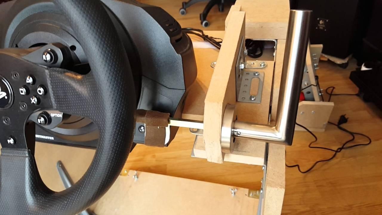 tuto playseat home made with handbrake frein main v3 youtube. Black Bedroom Furniture Sets. Home Design Ideas