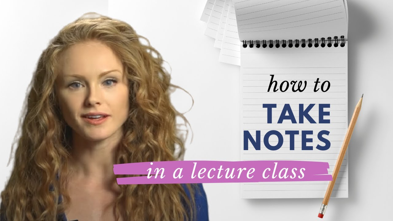 Download How to take notes in a lecture class