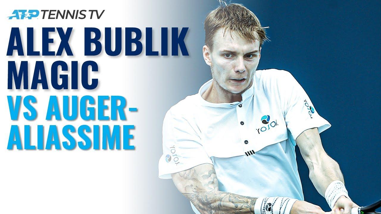 Alexander Bublik MAGIC vs Auger-Aliassime | Hamburg 2020