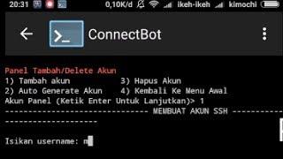 Cara Mengelola Akun Ssh, Pptp & Openvpn Di HP Android | Premium Script
