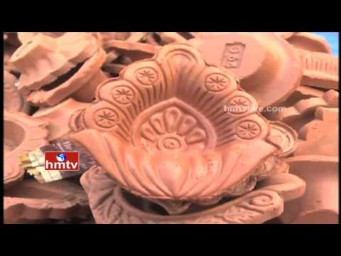Variety Decorative Lamps for Diwali Festival in Hyderabad | HMTV Special Focus
