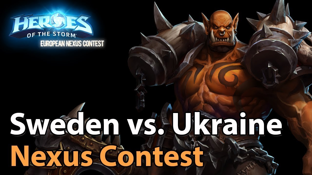 ► Heroes of the Storm Nations Cup: Sweden Ukraine - 3rd Place Decider