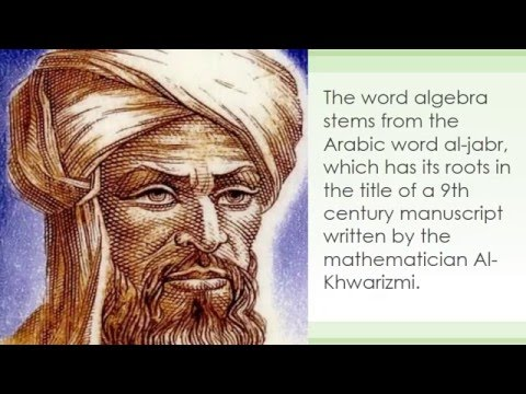 Al-Khwarizmi: The father of Algebra