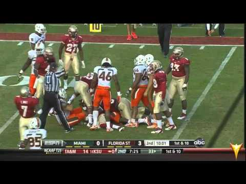Miami Hurricanes vs. Florida State (2011) - Hurricane FlashForward 1st Half