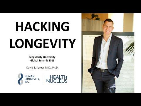 Hacking Longevity: Dr. David Karow at Singularity University 2019