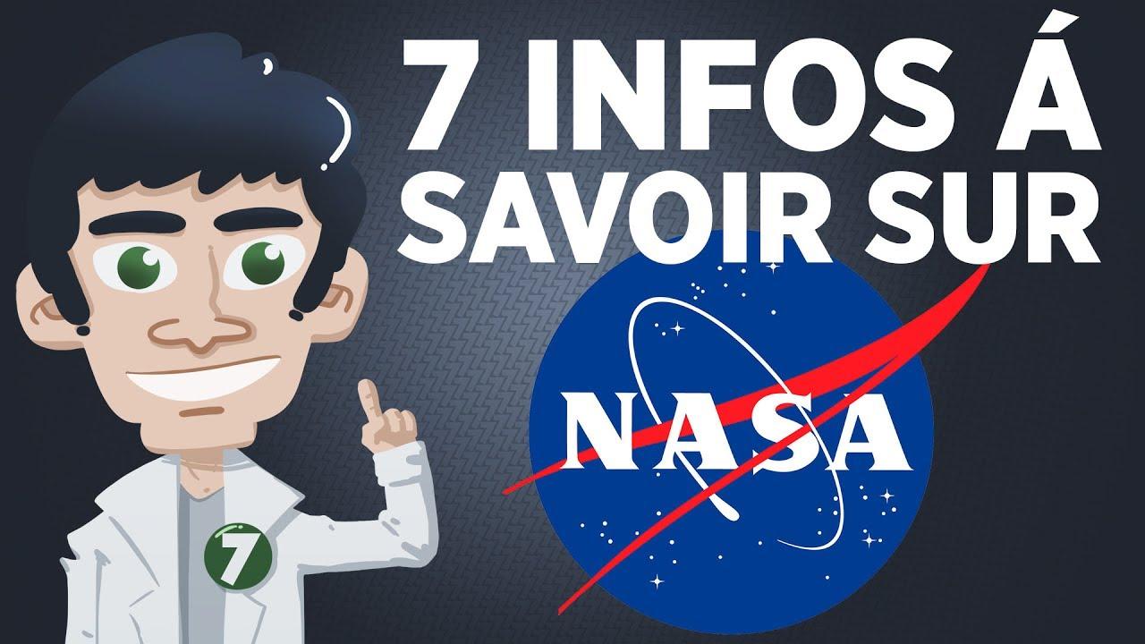 7 infos à savoir sur la NASA