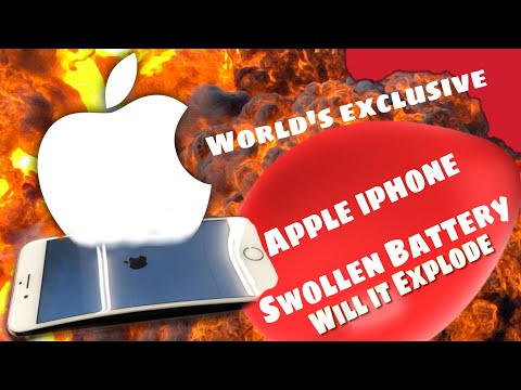 Worlds Exclusive ! APPLE IPHONE With Curve Display / BLOATED / SWOLLEN / EXPLODING BATTERY