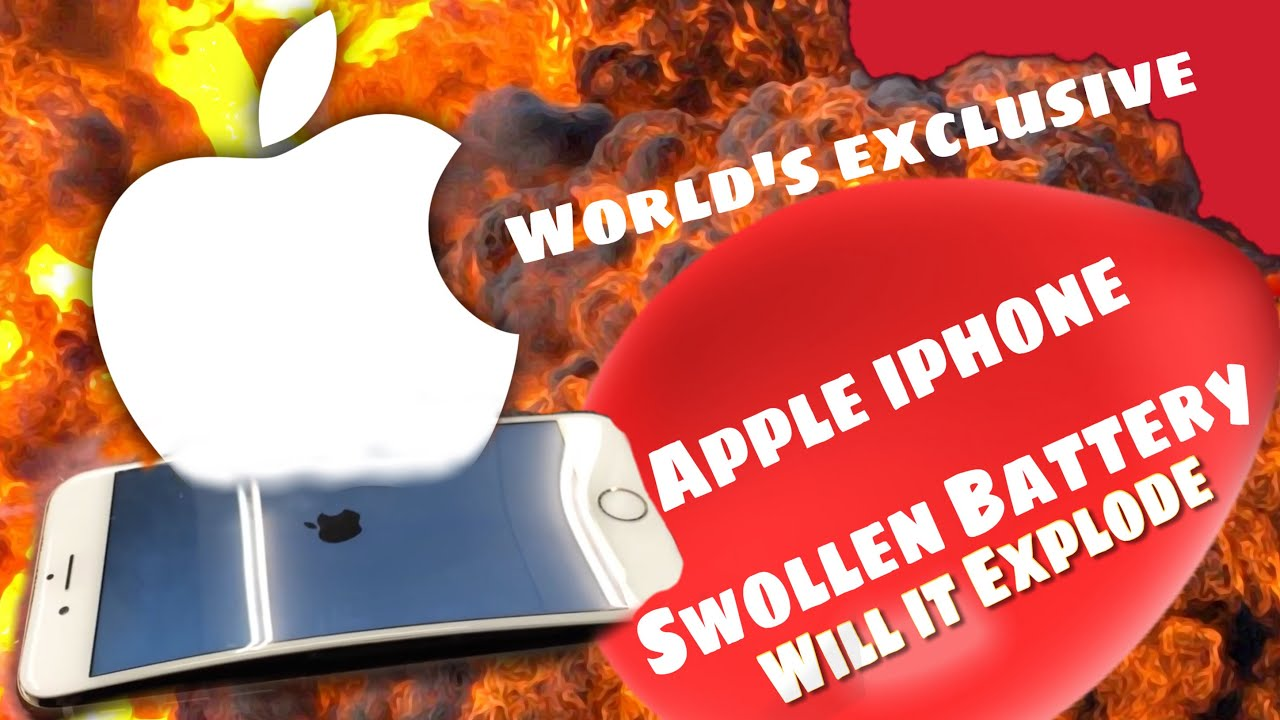 iphone battery expanding apple iphone 6 bloated swollen exploding battery 11637