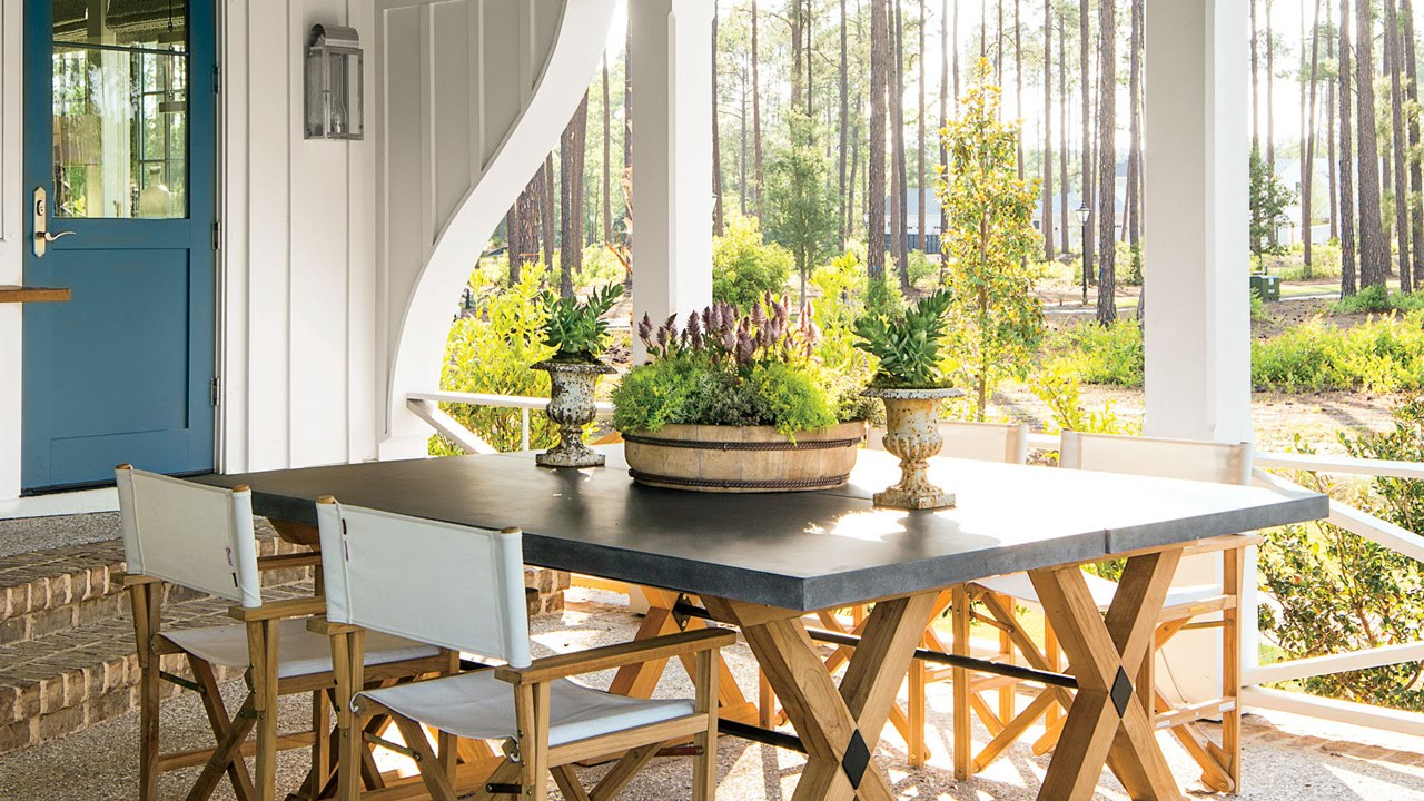 Lowcountry Outdoor Living | Southern Living - YouTube on Southern Outdoor Living id=61269
