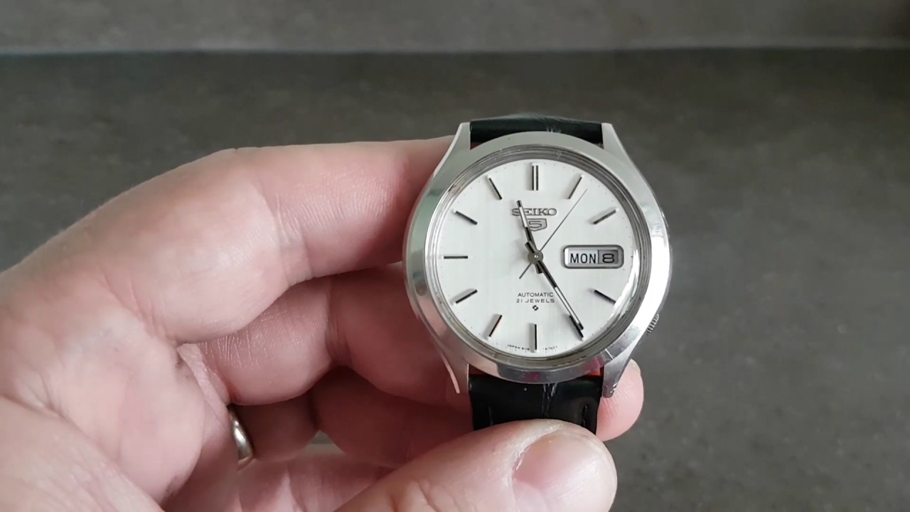 Dating a vintage seiko watch