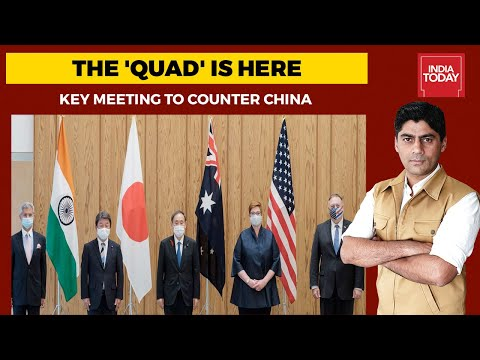 India, US, Japan, Australia Unite To Checkmate China   India First