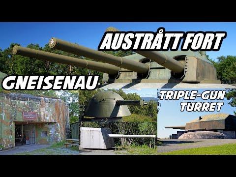 Austrått Fort ★ Ørland ★ Norwergen ★ Gneisenau ★ Geschützturm ★ Festung Norwegen ★ Atlantikwall