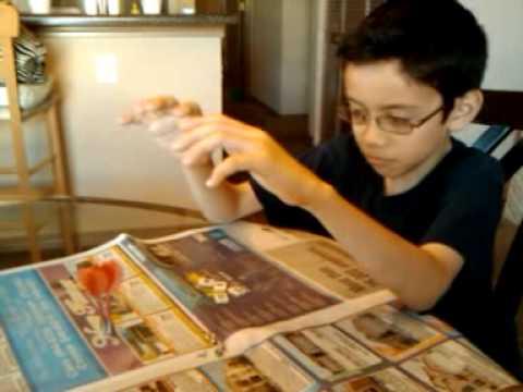10-yr-old demonstrates his telekinetic powers