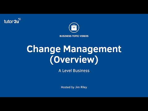 Change Management (Overview)