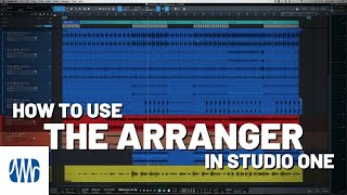 How to Use the Arranger Page in #StudioOne