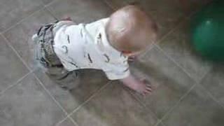 mr. peg leg crawling