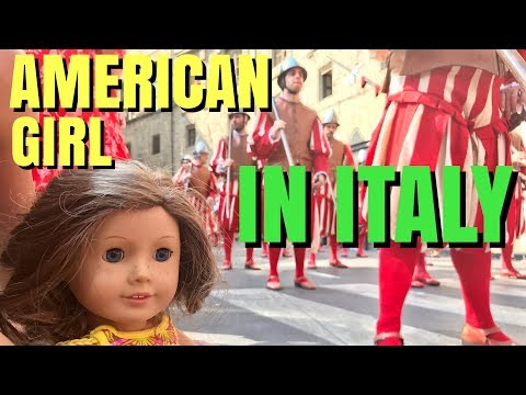 American Girl Goes To Italy - With Bloopers
